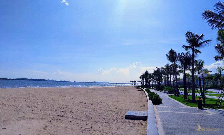 Bãi tắm Marina mới khu Hùng Thắng